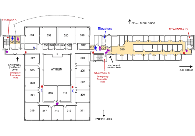Gunder Myran Building third floor map