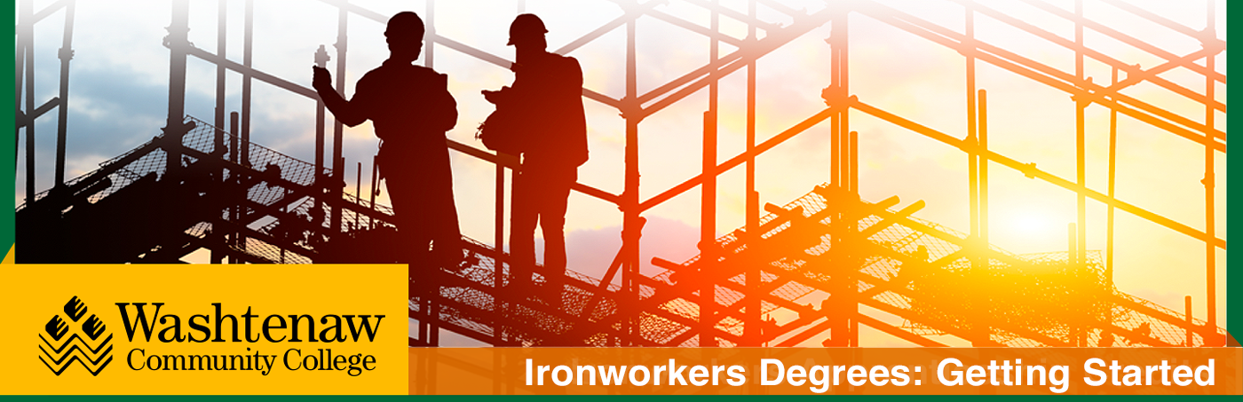 ironworkers on scaffolding