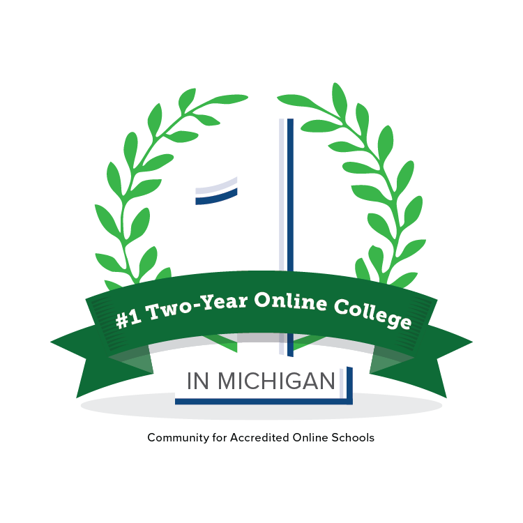 1# Two-Year Online College in Michigan by Community for Accredited Online Schools