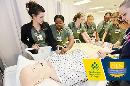 State-of-the-art simulation and world-class instruction make the WCC Nursing Center of Excellence the best learning experience in nursing.