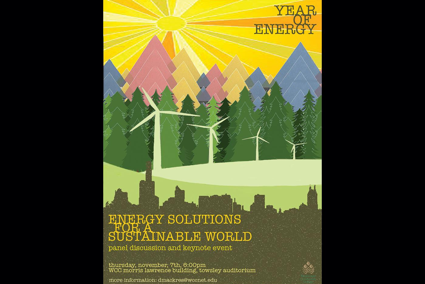 Year of Energy poster (c) Beall & Stenberg