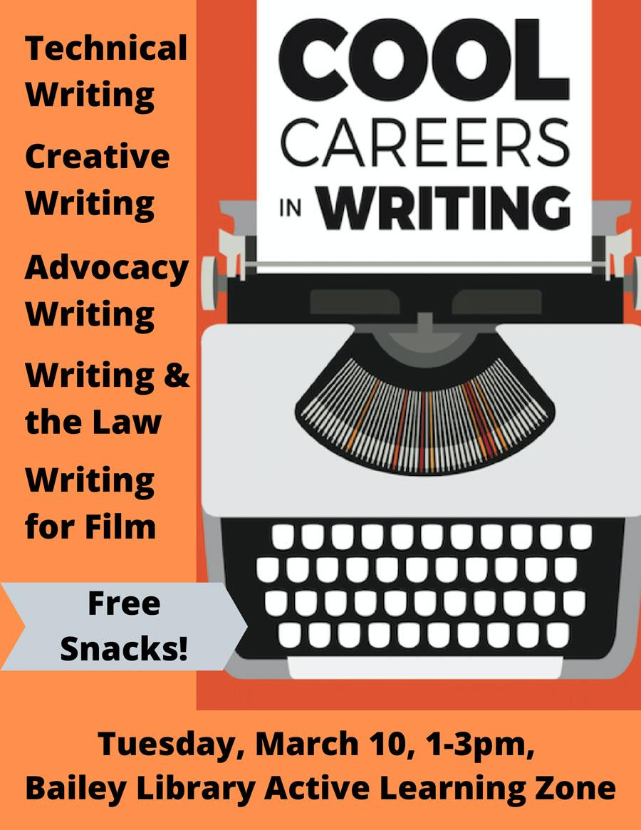 Cool Careers in Writing