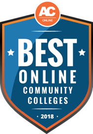 AC Best Online Community Colleges 2018