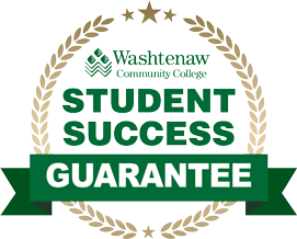 Washtenaw Community College Student Success Guarantee badge