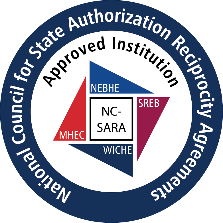 Logo: National Council for State Authorization Reciprocity Agreements