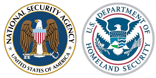 NSA and Department of Defense Seals