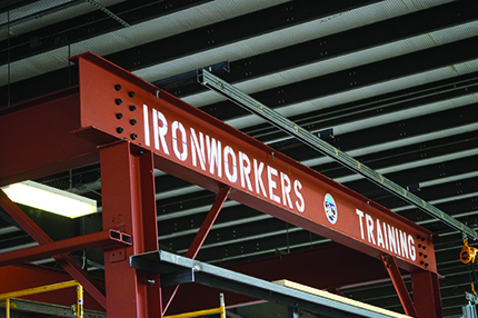 Ironworkers return to WCC for annual training