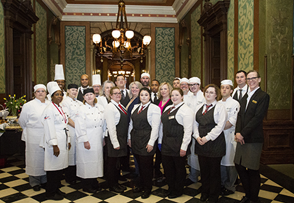 Culinary Arts on display in the Michigan State Capitol
