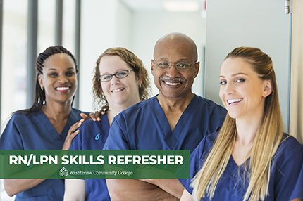 RN/LPN Skills Refresher class offered at WCC