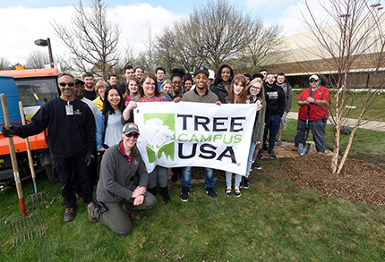 WCC will fly its Tree Campus USA flag for the third consecutive year.
