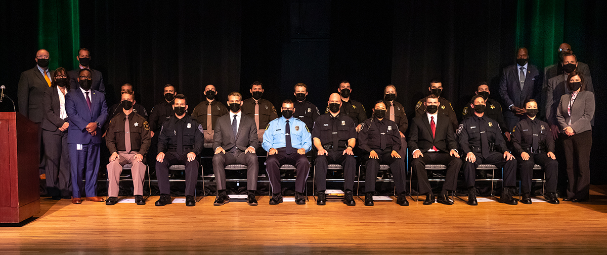 WCC Police Academy celebrates its Class of 2021 at graduation ceremony