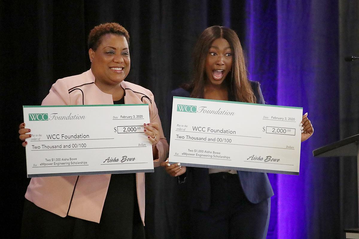 WCC grad Aisha Bowe honored with 2021 MCCA Outstanding Alumnus Award