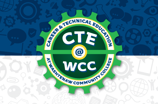 CTE Month at WCC logo