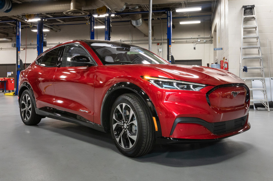 WCC leads next-generation workforce preparation with new Ford Mustang Mach-E