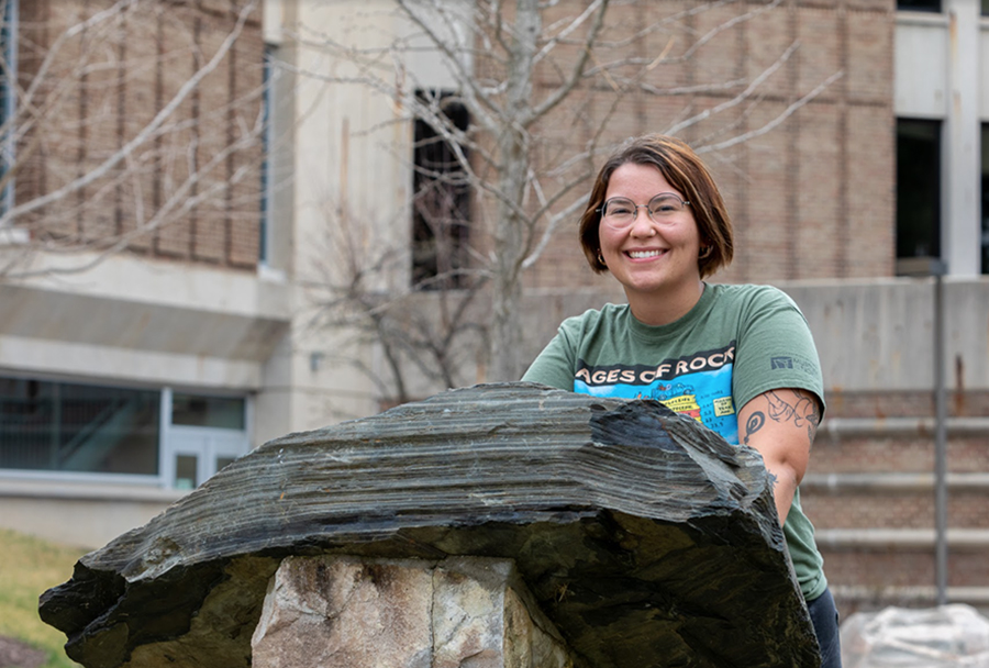 Graduate Profile: Future geologist Sabrina Lanker is a WCC 'rock star'