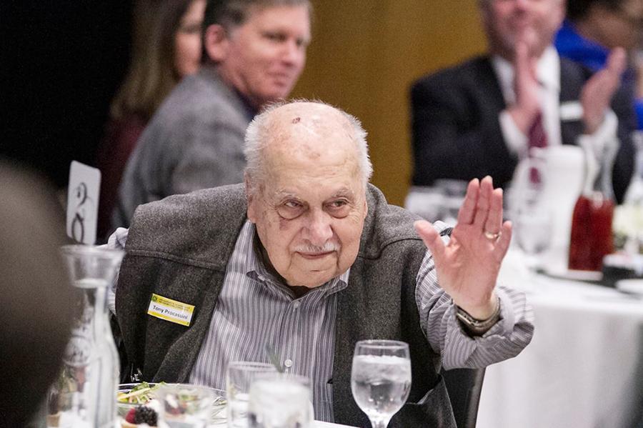 In memoriam: Tony Procassini, long-time trustee and college supporter