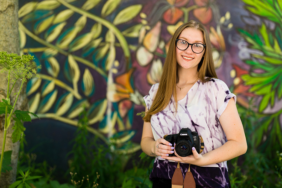 Student profile: Photography major Shelby Beaty also working on her business plan