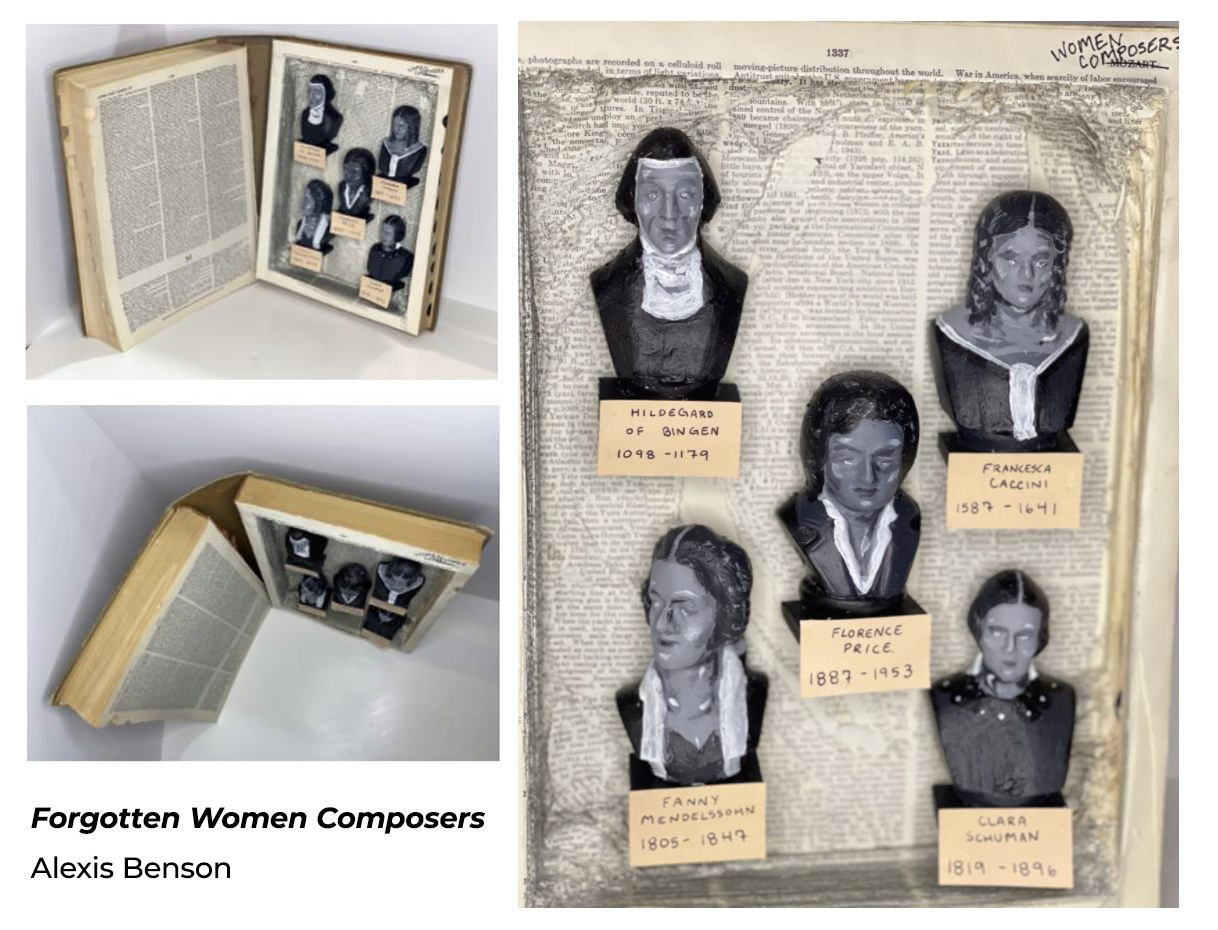 Women's History Month: WCC art student creates her own recognition of women composers