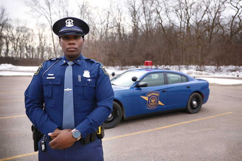 Michigan State Police Trooper James Cheese