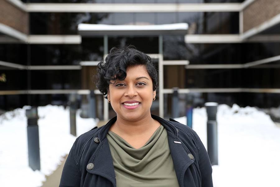 WCC alumnus Praveena Ranaswami leads community relations for the Toyota Research and Development Center's communications division.