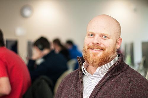 WCC Digital Media Arts instructor Randy Van Wagnen. | Photo by Jessica Bibbee