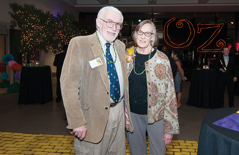 Tom and Edi Bletcher are believed to be the only people who have attended all 32 Mardi Gras events. Tom Bletcher is a retired WCC math instructor. | Photo by Jessica Bibbee