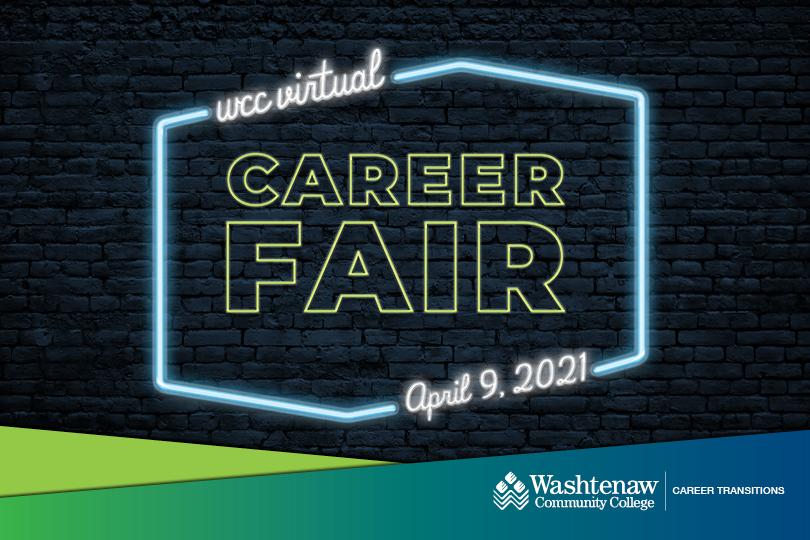 WCC Virtual Career Fair   April 9, 2021