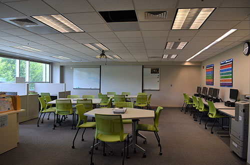 photo of Learning Commons spaces